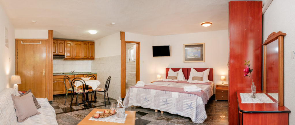 SINGLE-ROOM APARTMENT FOR 2-3 PERSONS